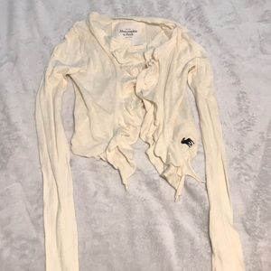 Abercrombie and fitch tan sweater